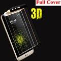 3D borde curvo de la cubierta completa Premium templado Protector de pantalla para el LG G5 H830 película protectora 9 H dureza a prueba de explosiones