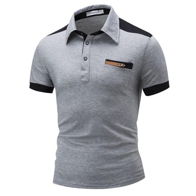Summer Men's Clothes Cotton Short Sleeve Male Polo Shirt