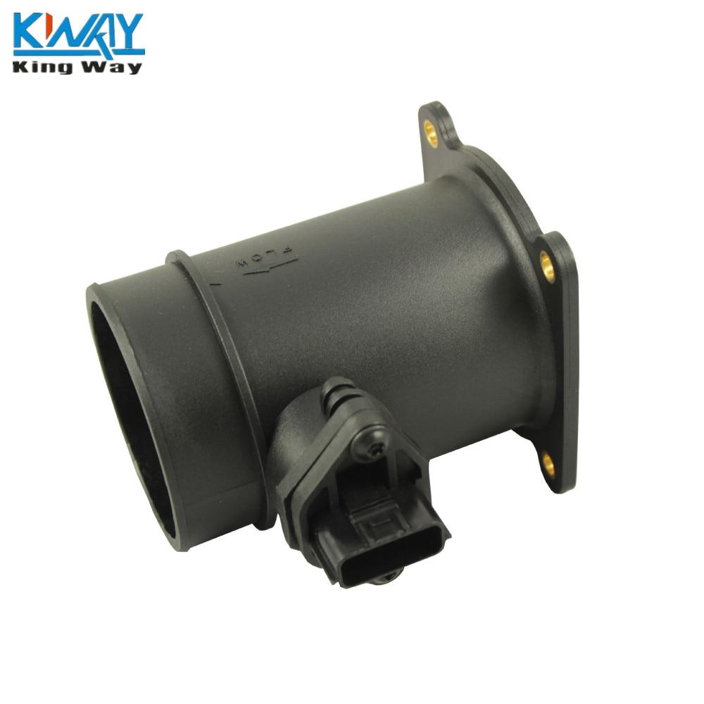 Mass Air Flow Sensor Intake Adapter RED Filter For 01-03 QX4 3.5L V6