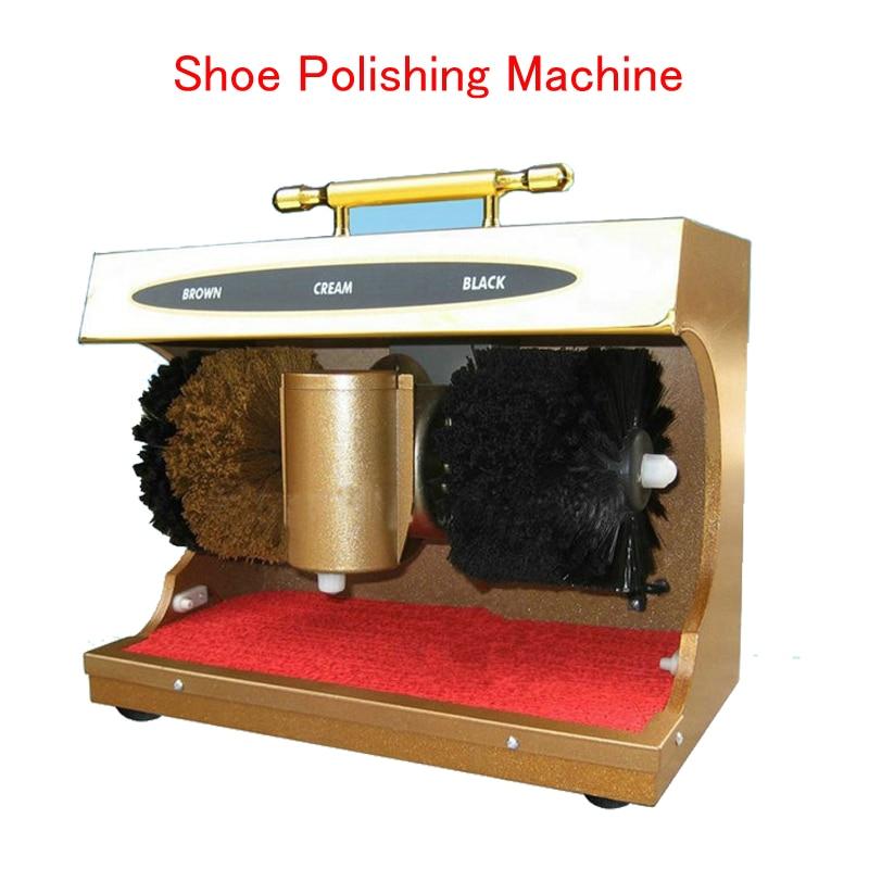 Household  Shoe Polishing Machine  45W Automatic Shoe Polisher Sensor Semiportable Induction Shoe Dryer HF-G4 jewelry polishing machine polisher