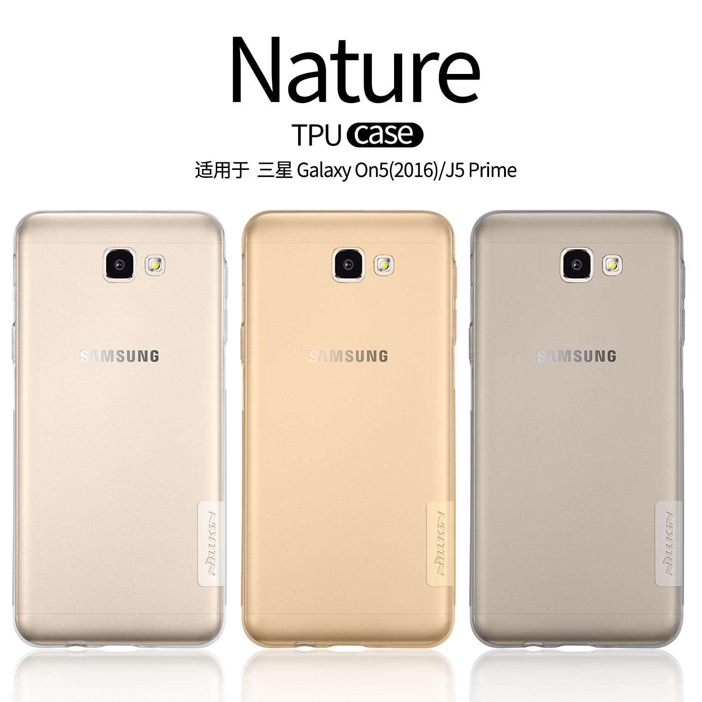 TPU Cas Pour Samsung Galaxy On5 2016 J5 Premier Nillkin Nature Serie Couverture Souple La Sfor 55 Pouce