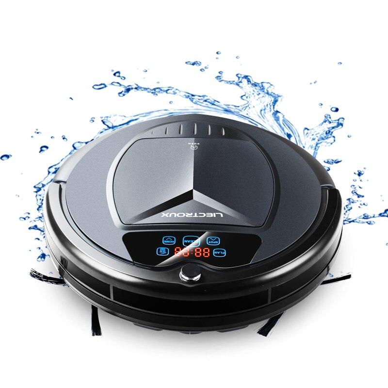 (Доставка из Москвы) LIECTROUX B3000PLUS робот пылесос с танком для воды (влажная и сухая уборка) сенсорный экран, фильтр HEPA,моющий бак,виртуальная сте... - 2