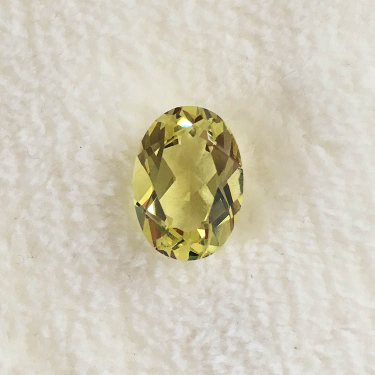 Oval shape Alexandrite loose stone yellow change red in ...