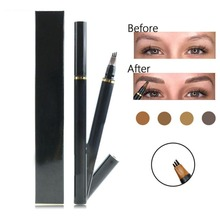 Tattoo Eyebrow Pencil Waterproof Natural Eye Brow Long Lasting 3 Head Enhancer Makeup