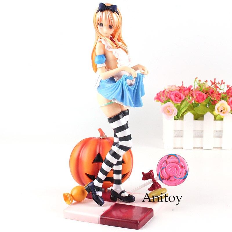 ---- Anime Figure Misaki Kurehito Alice Pumpkin Girl LED Lights Detachable Clothes Scale 1/6 Doll Figurine Toy 24.5cm---- Anime Figure Misaki Kurehito Alice Pumpkin Girl LED Lights Detachable Clothes Scale 1/6 Doll Figurine Toy 24.5cm