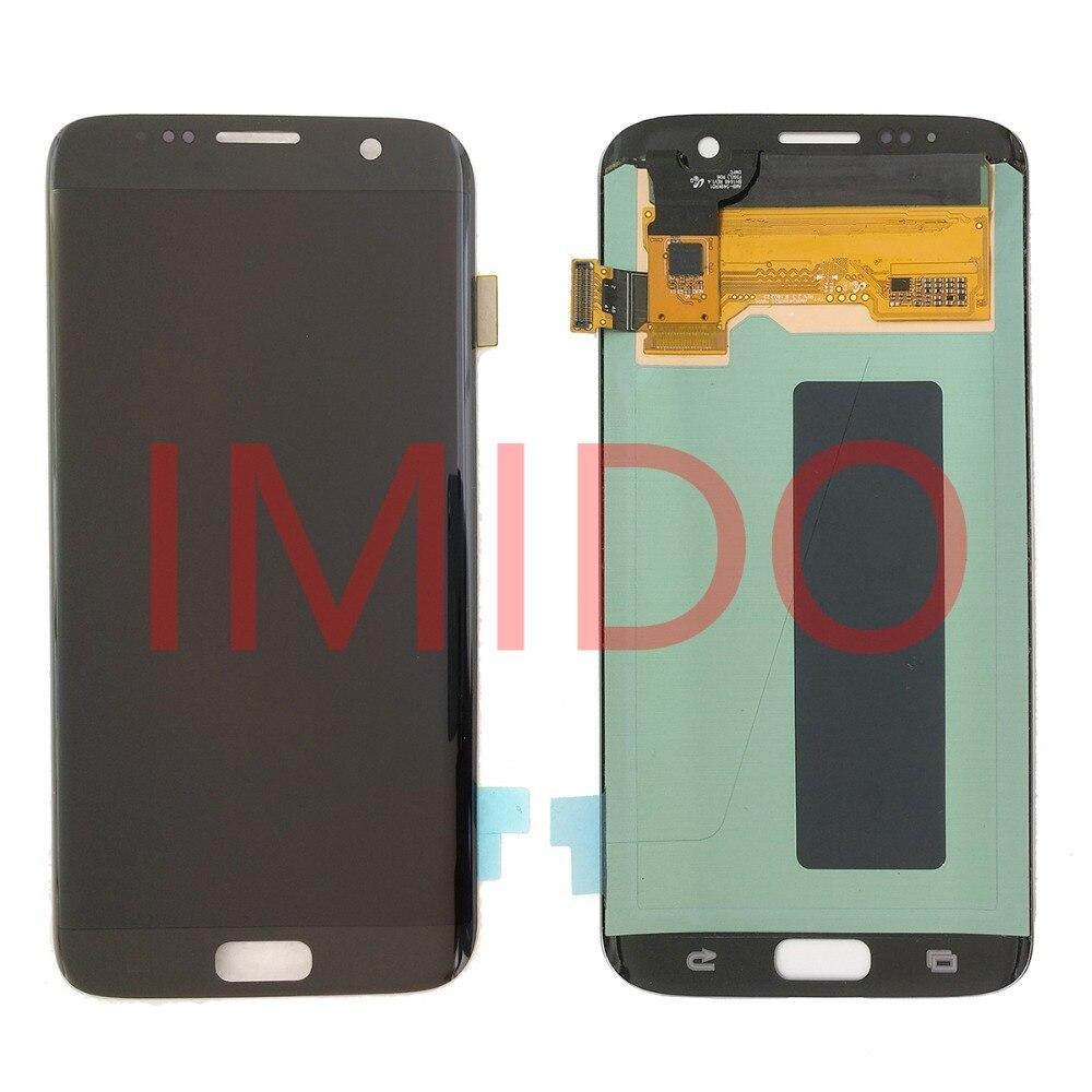 Pour Samsung Galaxy S7 BORD G935 G935F Super AMOLED Écran LCD + Écran Tactile Digitizer Assemblée Pièces De Rechange - 2