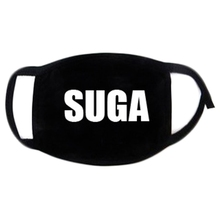 Kpop BTS Fans Face Mouth Mask Unisex Muffle Respirator Cotton Letters Print Soft