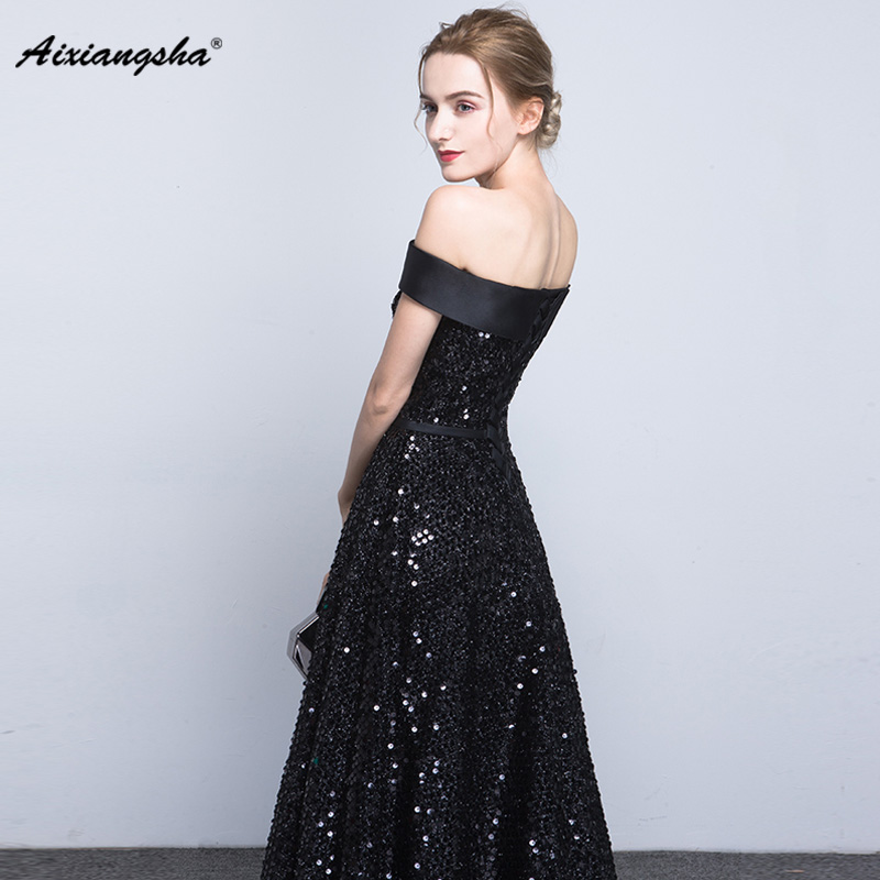 76921476fa Boat Neck A-Line Sequined New arrival Appliques Sleeveless Short ...