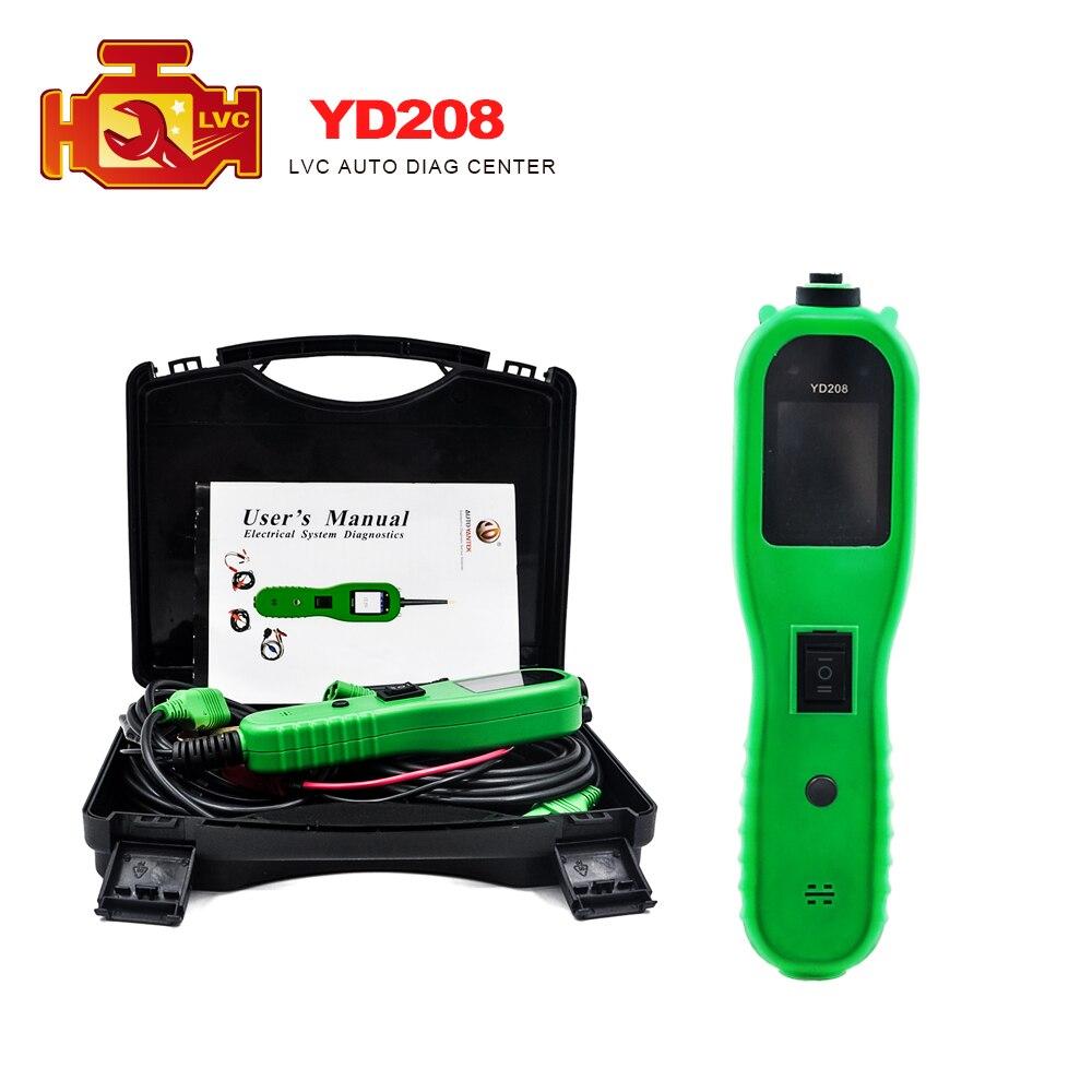 Цена за Электрическая Система Диагностика Yantek YD208 Зонд Питания Мощные Функции Заменить AUTEL PS100 Электрический Цепи Тестер DHL Бесплатно