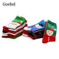 Goebel Cute Women Tube Socks Breathable Fashion Woman Cotton Socks Cartoon Comfortable Female Winter Socks 3pairs/lot