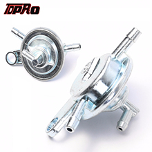 TDPRO 6mm 8mm 3 Pipes Gas Fuel Pump Valve Petcock Switch For Motorcycle GY6 50CC 125CC 150CC Go kart Scooter Pit Dirt Bike ATV tdpro 12v starter motor relay solenoid motorcycle moped for gy6 90cc 110cc 125cc 250cc atv go kart buggy dirt pit bike scooter