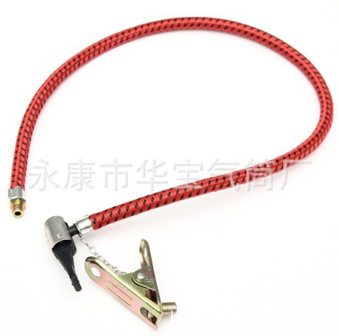 By DHL 100PCS Bike Car Tyre Mini Hand Air Pump Inflator Replacement Hose Tube For Schrader