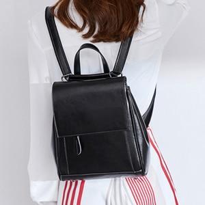 Image 2 - Женский дорожный рюкзак POMELOS, модный дизайнерский рюкзак из спилковой кожи, женский рюкзак, дамская сумка