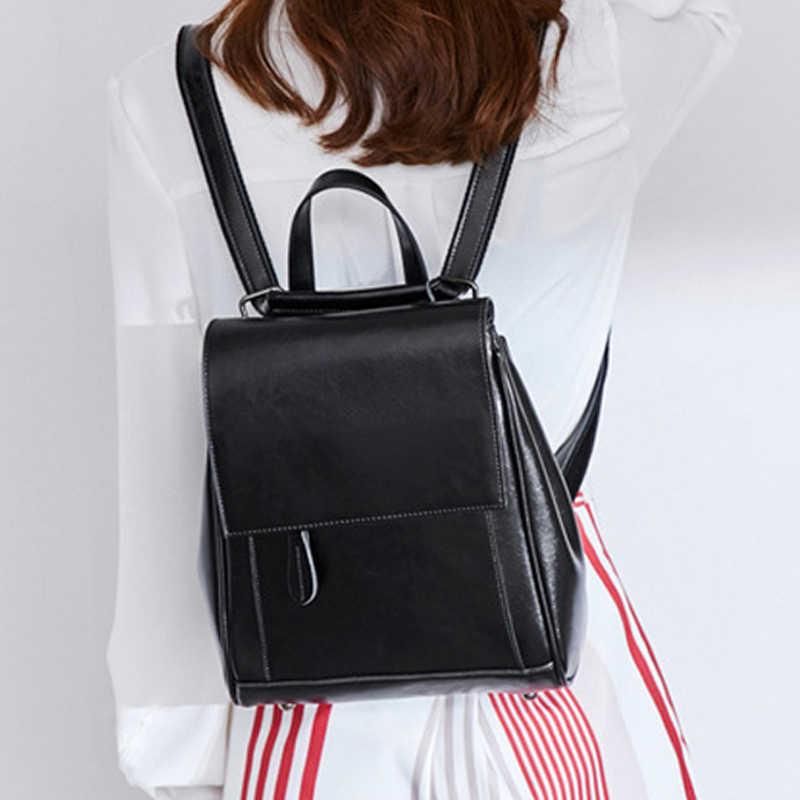 POMELOS модные рюкзак Для женщин Разделение кожаный рюкзак для путешествий Дизайнер Рюкзак Для женщин женский рюкзак женские 2019
