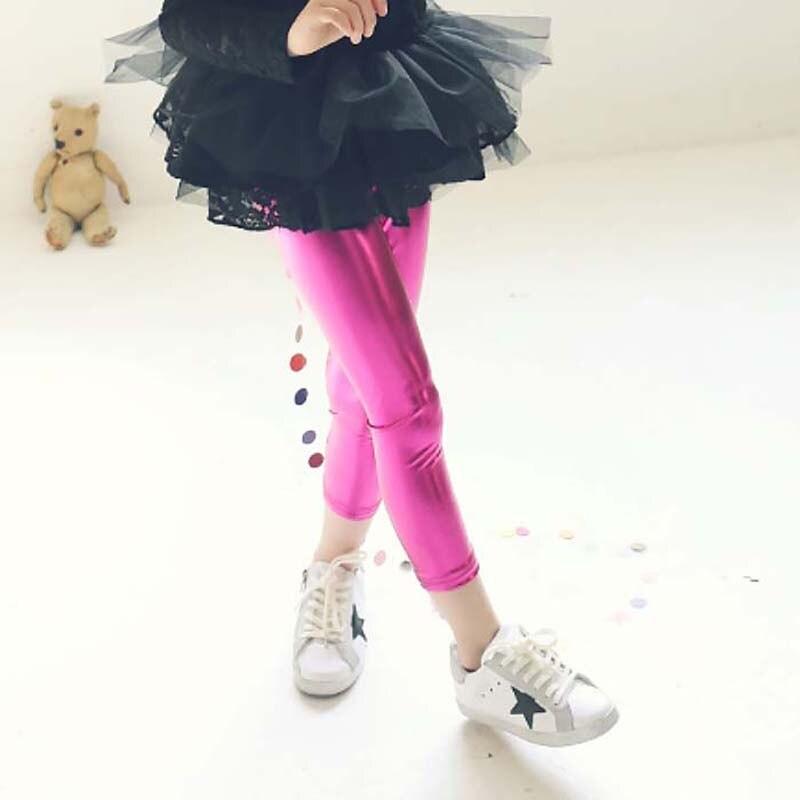 Heiße Goldmädchen-Gamaschen-Großhandelskinder, welche die - Kinderkleidung - Foto 2