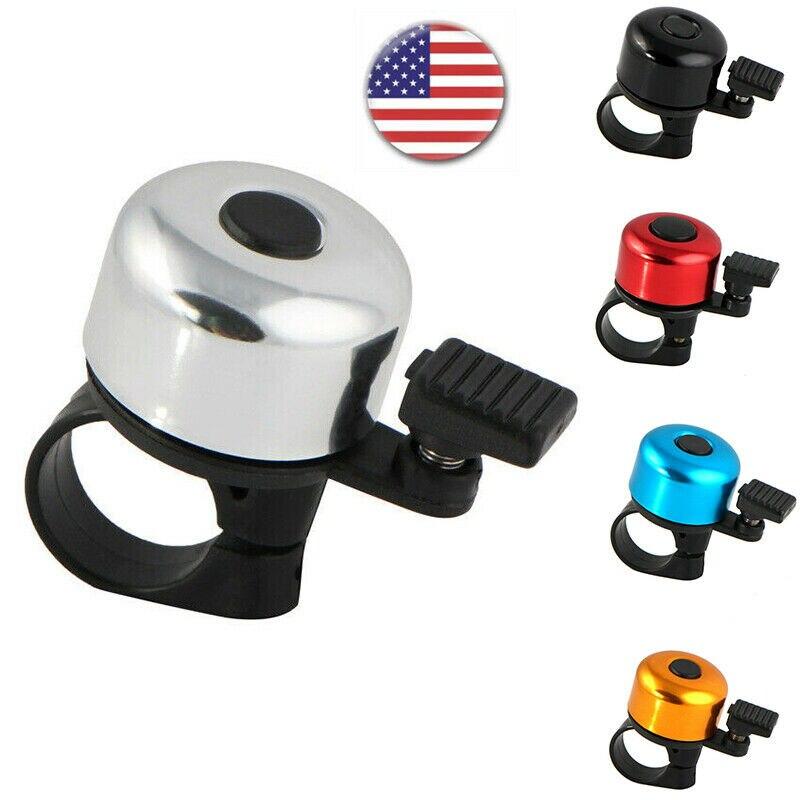Mini Bicycle Bike Bell Cycling Handlebar Horn Ring Alarm High Quality Safety USA