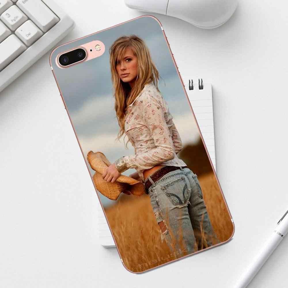 Funda de teléfono de lujo qdoppz para iPhone X XS Max XR 4 4S 5 5C SE 6 6 S 7 8 galaxy A3 A5 J1 J3 J5 J7 2017 país chica