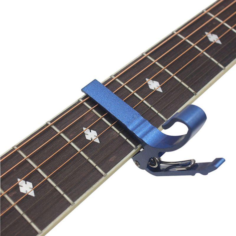 guitar capo acoustic classic electric guitarra tuning clamp alloy tune guitar tuner clamp capo. Black Bedroom Furniture Sets. Home Design Ideas