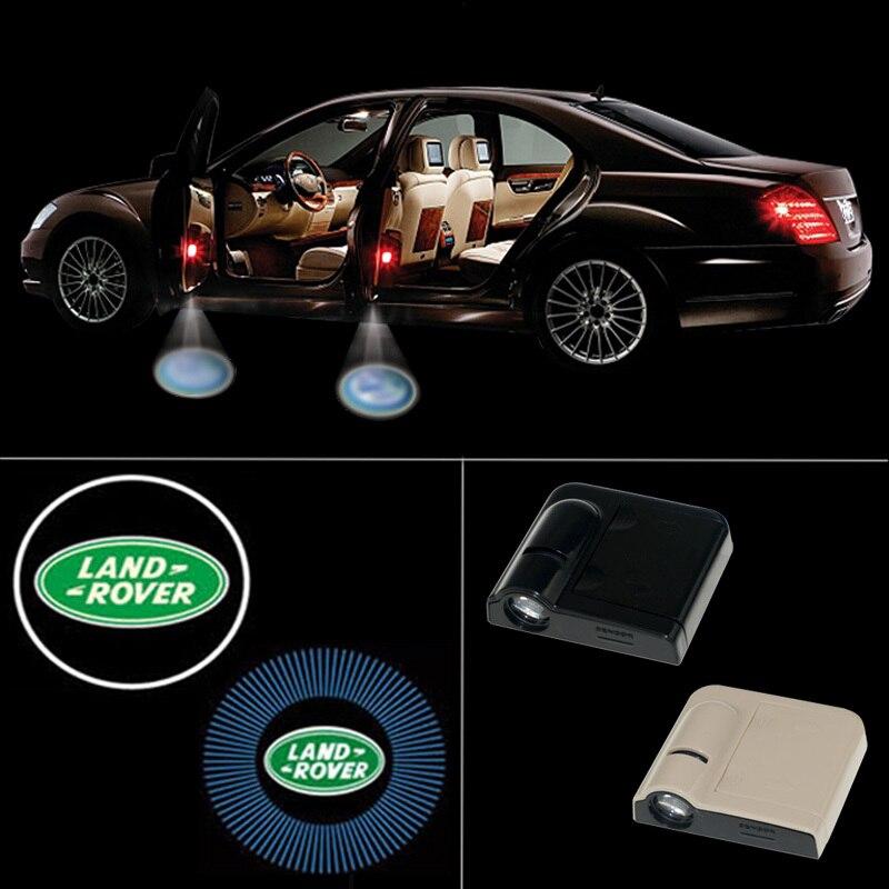 Wireless Led Car Door Light Logo Projector Welcome Ghost