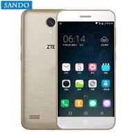 Original ZTE Xiaoxian 4 Mobile Phone 5 2 Inch 4G LTE BV0701 Octa Core MT6735 1