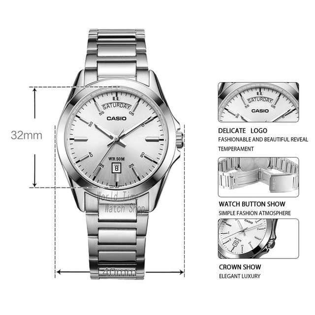 a882d36f62a placeholder Casio relógio Analógico relógio de quartzo dos homens simples  design de estilo de negócios relógio à
