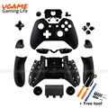New Arrival Matte black Protective Full Housing Replacement Shells and Buttons for Xbox One Wireless Controller free tools