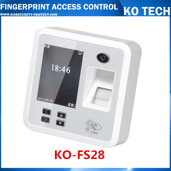 FS28 Biometric Fingerprint Access Controller And Attendance TCP IP With RFID ID Card Reader + USB zk iface701 face and rfid card time attendance tcp ip linux system biometric facial door access controller system with battery