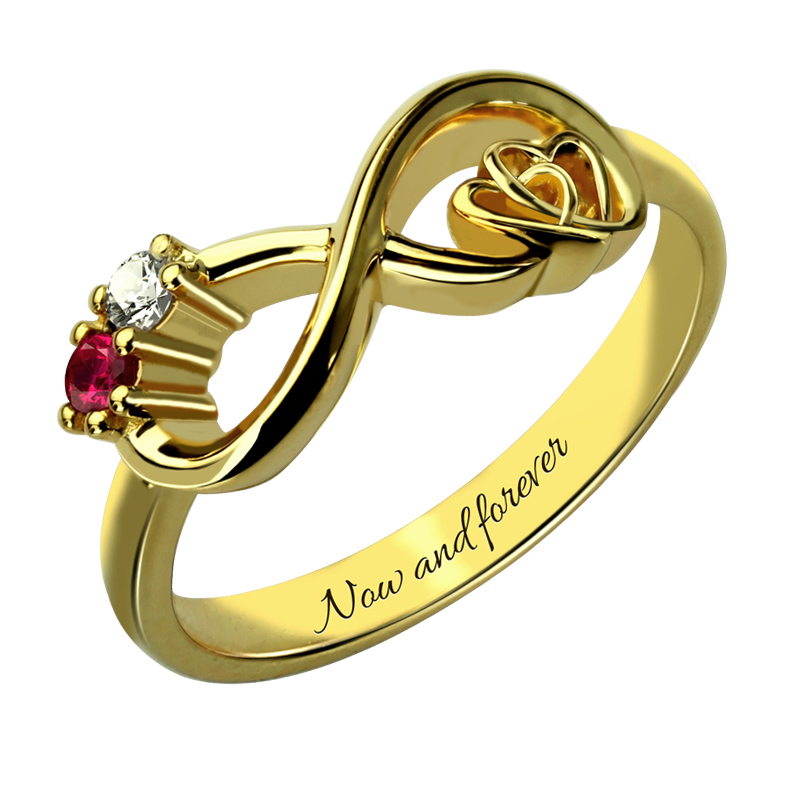 wholesale customized heart in heart infinity birthstone. Black Bedroom Furniture Sets. Home Design Ideas