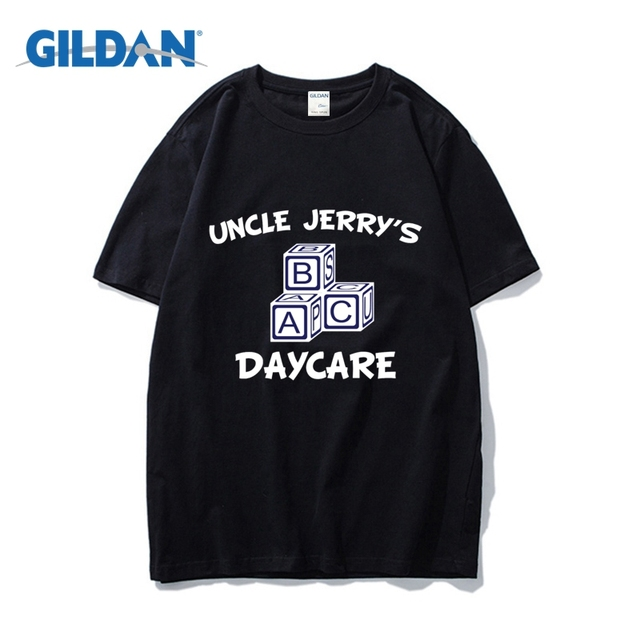04295796695 Uncle Jerry S Daycare Tee Shirt 2018 Simple Cotton Where To Buy T Shirts  Online Clothes Tee Shirt Buy