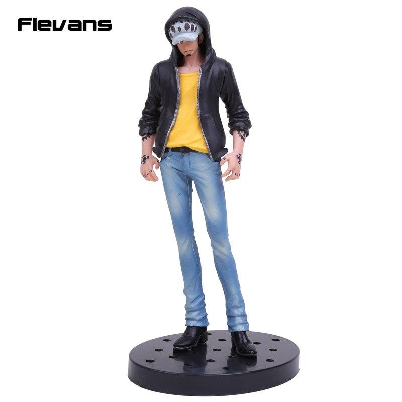 Anime One Piece JEANS FREAK Nami Nico Robin Trafalgar Law PVC Figure Collectible Model Toy 17cm
