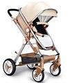 Upgrade Deluxe Высокое Мнение Детские Коляски Китай дешевые детские коляски/travel system детские коляски