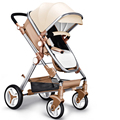 Upgrade Deluxe High View Baby Stroller China cheap baby pram/travel system baby stroller