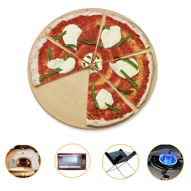 10 & 13 inch Pizza Stone for Pizza 3