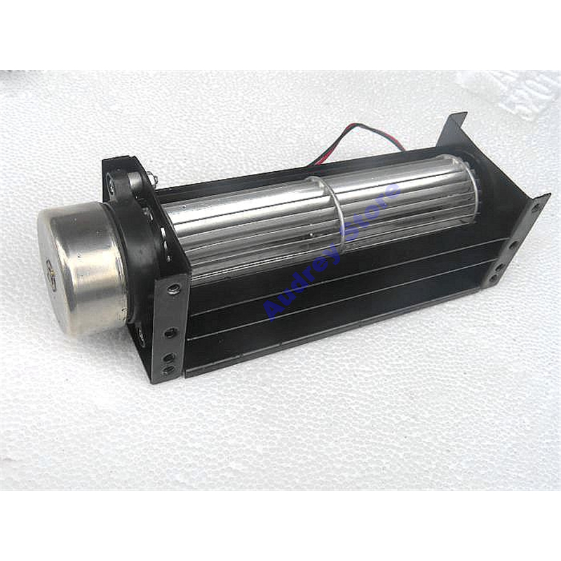 New Brushless Cross-flow Air Blower 12V 2300rpm DC Brushless Motor Fan Mute Drum Type