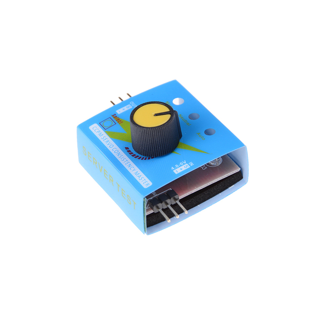 Multi Servo Tester 3CH ECS Consistency Speed Controler Power Channels CCPM Meter Master Checker RC Dron Helicopter Parts