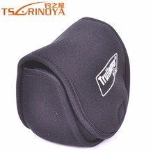 TSURINOYA Brand Spinning Reel Bag Black M L XL Size for 800-5000 Series Spinning Wheel Special Fishing Bag Reel Protective Case