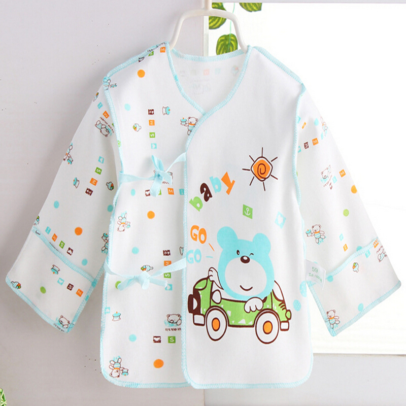 2017 New newborn Baby infant underwear shirt baby blouse coat cartoon star cotton tops more 15 colors classic
