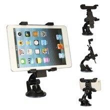 6,5 см-14 см щит автомобиля ветра присоске держатель стойки GPS для iPhone 6 S Plus для планшета iPad мобильный телефон