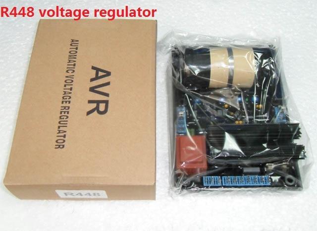 R448 brushless generator parts avr voltage regulator цена