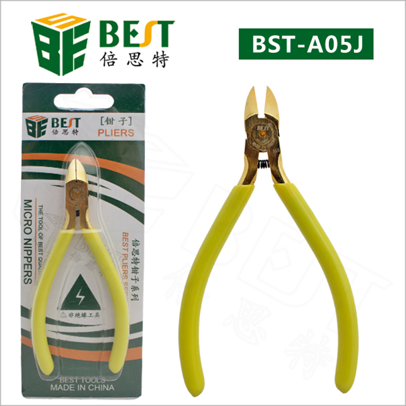 5 inch Clamp Diagonal Pliers Oblique Mouth Nozzle Tip Scissors Diagonal Pliers