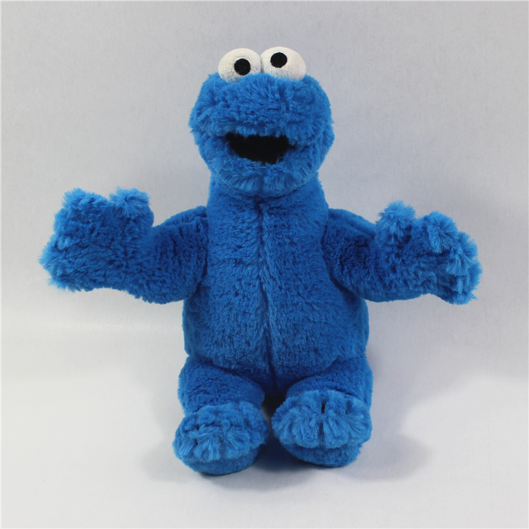1pcs 23cm original High Quality SESAME STREET Cookie Monster plush soft font b toys b font