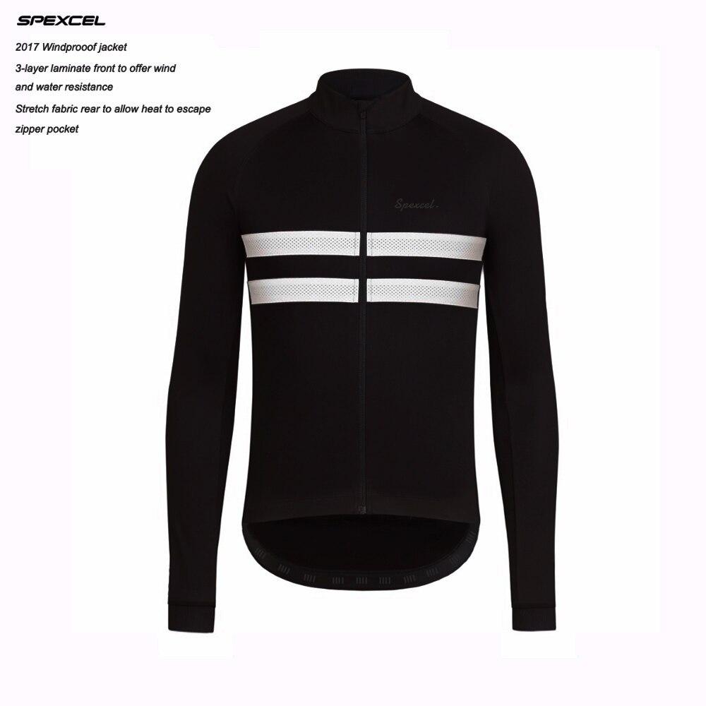 SPEXCEL top qualität Schwarz Reflektierende Winter Winddicht Radfahren Jacke Thermische fleece Jersey weiche shell Radfahren kleidung 0 grad
