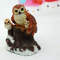 PRZY silicone mold new owl candle mould mother and child owl cake decoration tools chocolate silicone mold aroma stone moulds