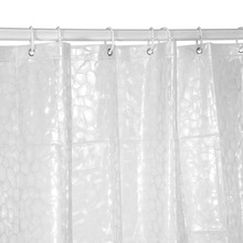 Hot Sale 180x180cm  2 Colors EVA Water Cube Thickened Bathroom Shower Curtain Moldproof Waterproof Bathroom Curtain