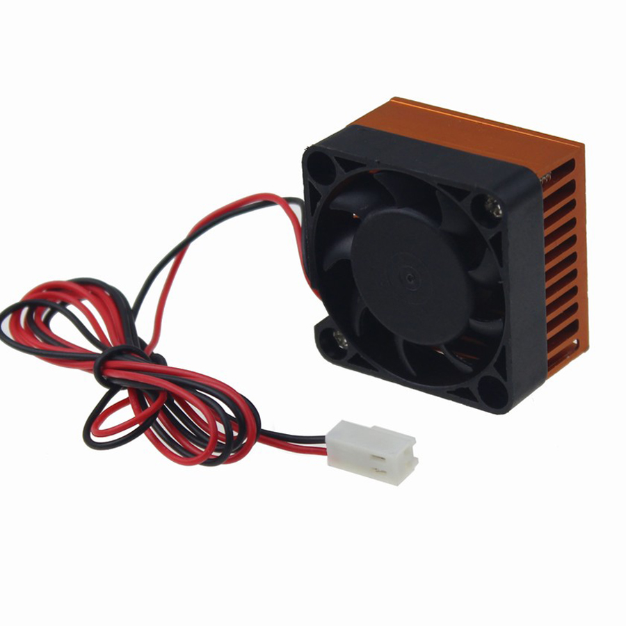 1 Piece Mini 40mm DC 12V 2-Pin Computer PC VGA Video Heat Spread Cooler Cooling Fan Heatsink for 3D Printer 1 pieces 65mm dc 2pin 12v computer vga video card heatsink cooler cooling fan