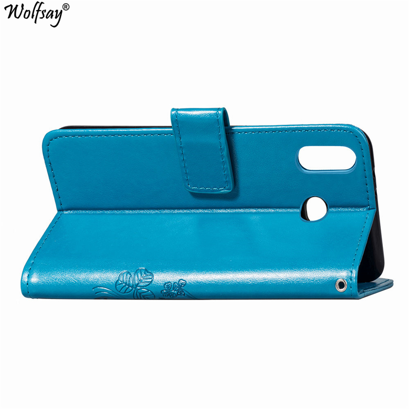 For Fundas Samsung Galaxy A6S Case Flip PU Leather Cases Galaxy A6S G6200 Cover for Samsung A6S Wallet Case Card Slot Pouch Bags