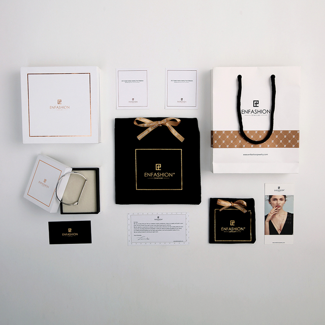 Enfashion Jewelry Package Gift Box for Rings Earrings Necklace Bracelets Bangles Sets