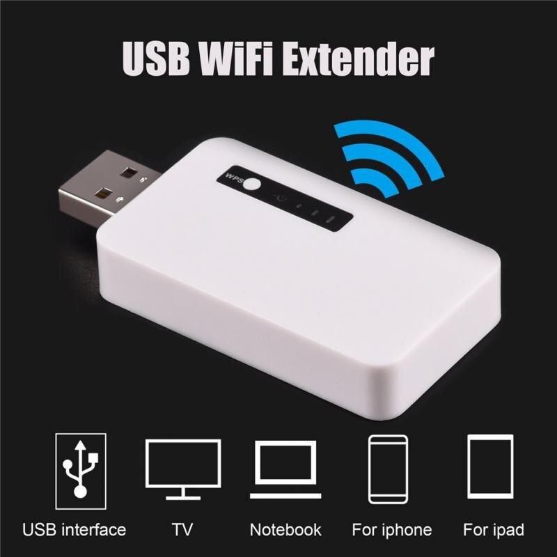 2018 NEW 2.4GHz 300M Mini USB WiFi Range Amplifier Wireless Repeater Signal Extender