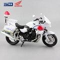 1:12 escala 2016 niños Motocicleta CB1300P policía policía diecast moto modelo miniatura modelos de motocicletas carrera juego de coches juguetes
