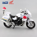1:12 scale 2016 kids Motorcycle CB1300P police policia diecast model motorbike miniature motorcycle models race car play toys